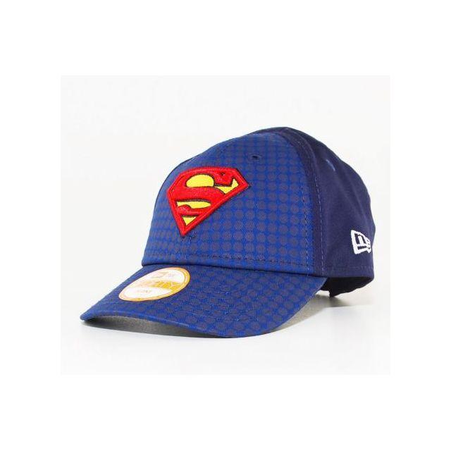 New Era Cap - Casquette Bébé New Era Superman Bleu Dotted Hero 940 Infant fa505a432b9