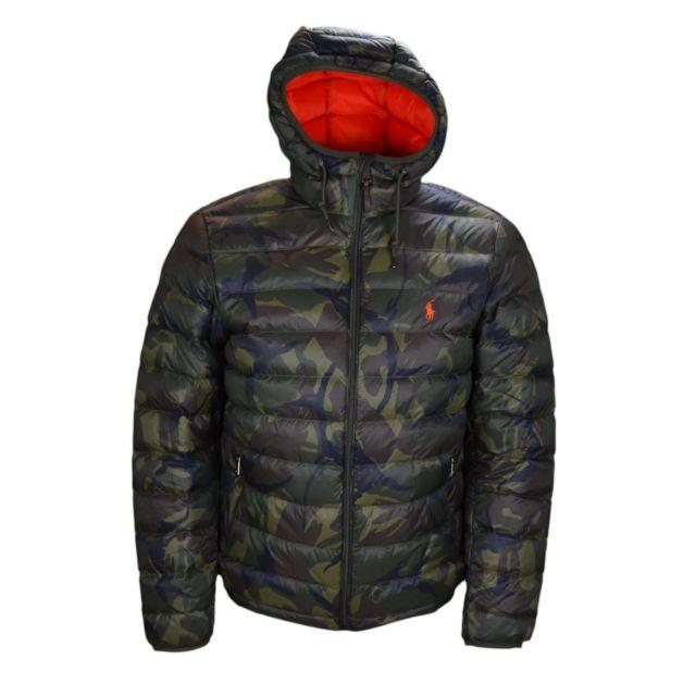 Ralph Lauren - Doudoune camouflage pour homme - pas cher Achat   Vente  Blouson homme - RueDuCommerce 29095624ad25