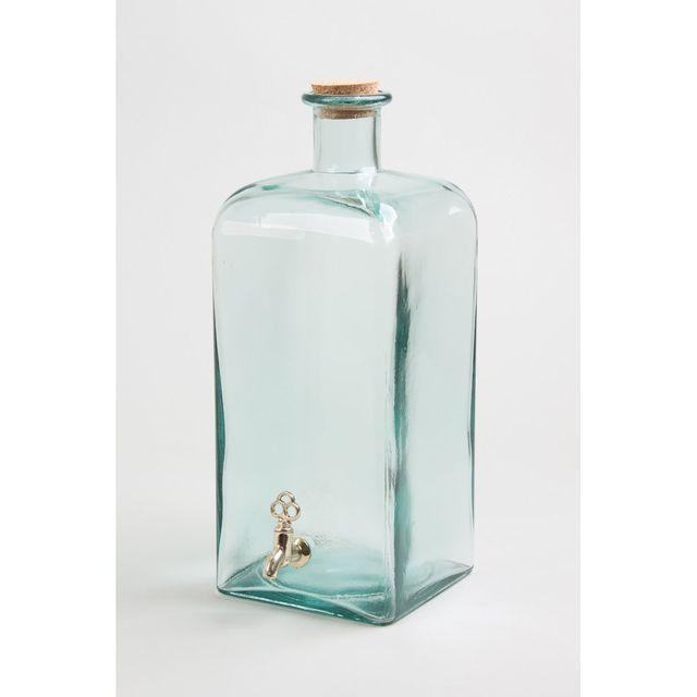 generique bouteille bonbonne en verre 5 litres avec robinet transparent pas cher achat. Black Bedroom Furniture Sets. Home Design Ideas