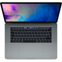 APPLE - MacBook Pro 15 Touch Bar - 512 Go - MR942FN/A - Gris Sidéral