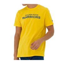 3a53f6d72efe6 T-shirt Nba Golden State Warriors Team Apparel Pop jaune pour Homme Taille  - Xl. NEW ERA ...