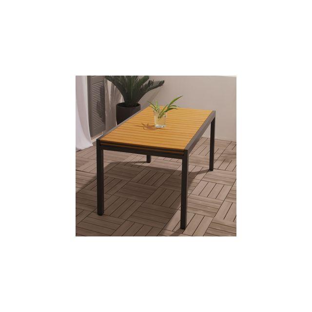 Squareline - Table de jardin extensible 146/253x90cm ...