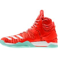 Adidas - Chaussure montante Derrick Rose 7 rouge/blanc