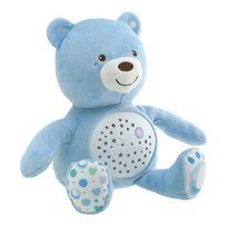 CHICCO - Ourson projecteur Baby Bear Bleu - 8015200000