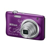 NIKON - appareil photo compact - coolpix a100 violet