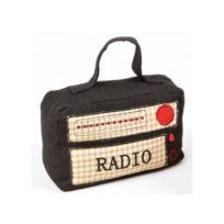 Casita - Bloque porte Radio - 19x10x13cm - Noir