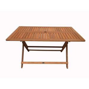 Habitat et Jardin - Table pliante bois exotique Hong kong - Maple ...