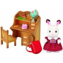 Sylvanian Families - Lapin En Chocolat Soeur Et Accessories Chocolate Rabbit Sister Set