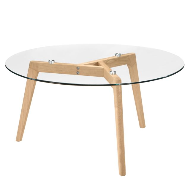 Rendez Vous Deco Table basse ronde Bilto