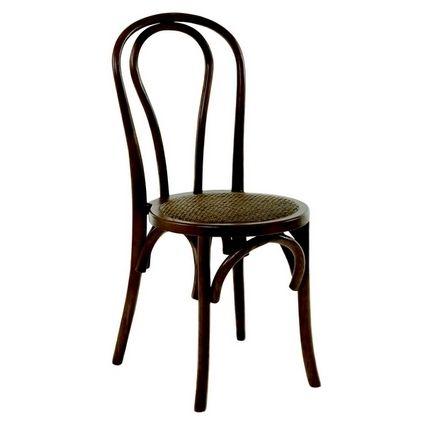 Lebrun Chaise marron 46 X 53 cm Gaia