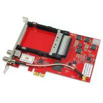 TBS - 6910 Carte PCIe Double Tuner TV & Double CI Slot pour le DVB-S2 / S - TV Satellite numérique HD
