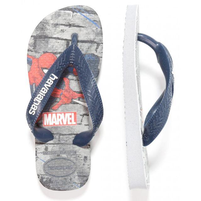 Havaianas - Tong garçon Spiderman - pas cher Achat   Vente Sandales ... 892d394b32ff