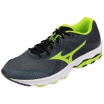 huge selection of 53daa 5d8f7 Mizuno - Wave Elevation M Gry - Chaussures Running Homme Gris 42.5