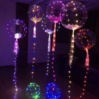 Divers - Ballon transparent avec lumières Led