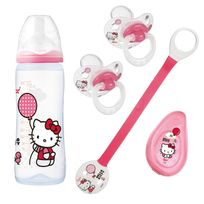 Tigex - Lot biberons et sucettes Hello Kitty
