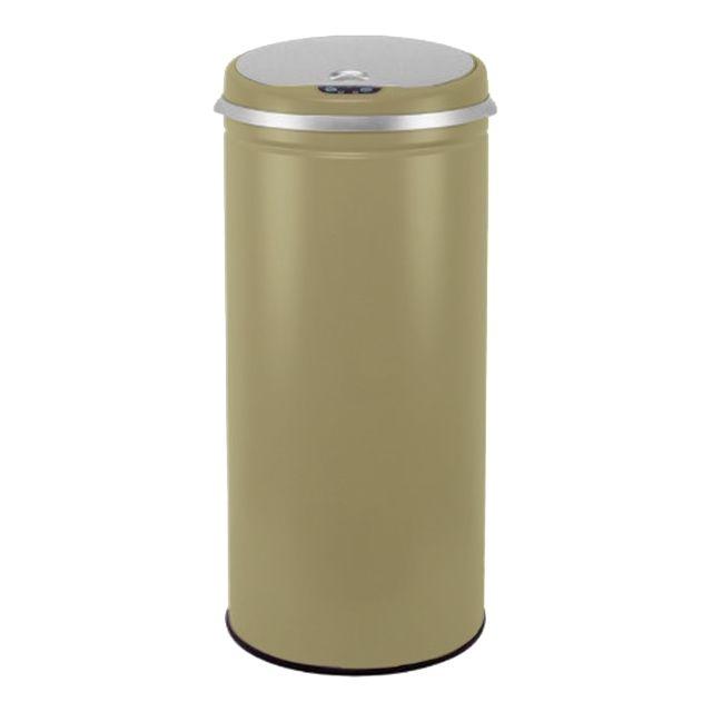 Kitchen move poubelle automatique 42l taupe mat bat - Kitchen move poubelle de cuisine automatique 42 l ...