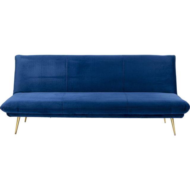 Karedesign Canapé-lit Soda bleu 188cm Kare Design