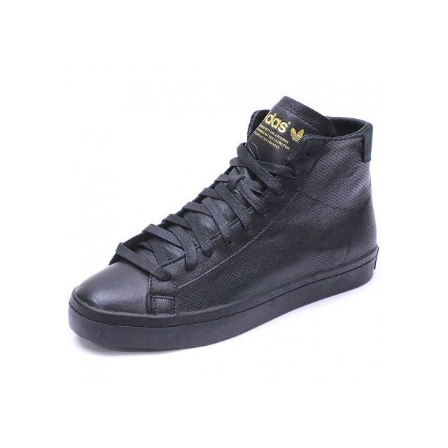Adidas originals Chaussures Court Vantage Mid Noir Homme