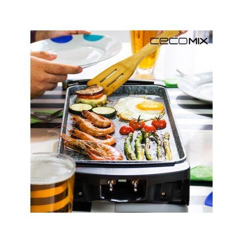 cecomix plancha de cuisine rock 2000 3045 1600w pas cher achat vente pierrade grill. Black Bedroom Furniture Sets. Home Design Ideas
