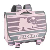 DISNEY - Hello Kitty - Cartable rose et gris - 1 Compartiment - L 38cm