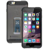 Armor-x - Coque Rugged QuickStand pour Phone 6 Plus de 5,5 pouces coloris titane Cx-mi6P