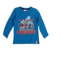 Suncity - Avengers T-shirt longue manche bleu T4 ans
