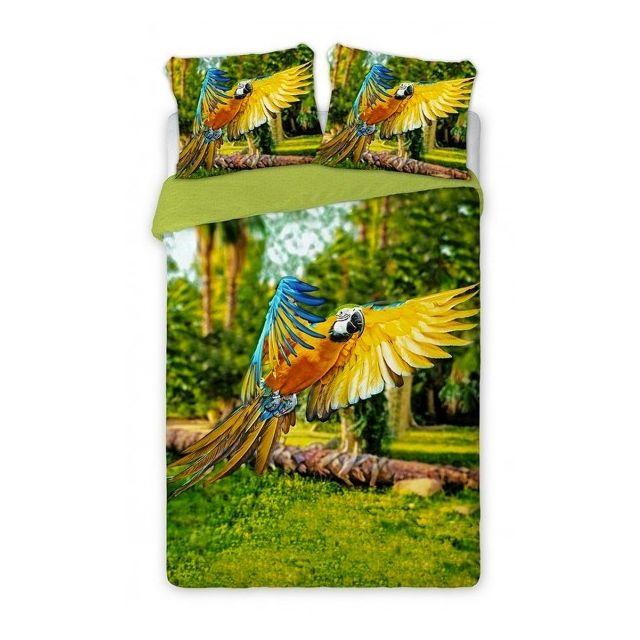 Housse De Couette Exotique home - perroquet - parure de lit oiseau exotique - housse de couette