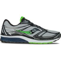 Saucony - Progrid Guide 9 Grise Et Verte Chaussures running