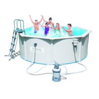 BESTWAY - Kit piscine acier ronde HYDRIUM -Ø360 x H 120 cm