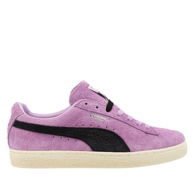 puma suede homme violet