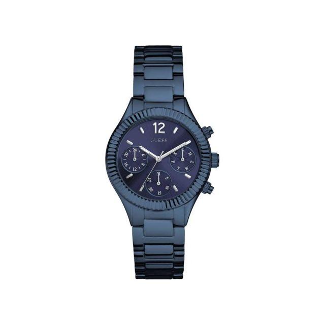Boîtier Acier Bleu Montre W0323l4 Femme Bracelet En Et 5R3Ajq4L