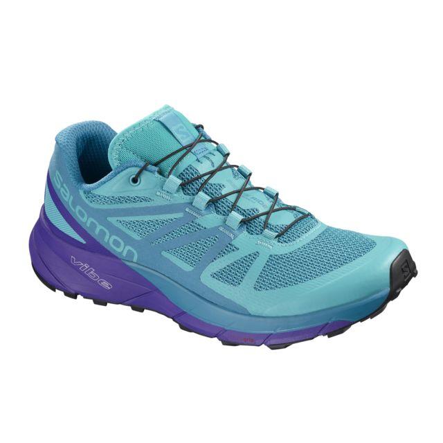 SALOMON SENSE RIDE BLEUE Chaussures de trail salomon