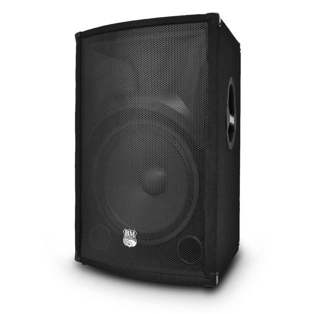 Bm Sonic Enceinte sono Pa passive 2 voies Bass Reflex 800W 15