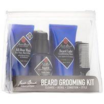 Jack Black - Kit Soin de la barbe - Nettoyer, Raser, Hydrater, Peigner
