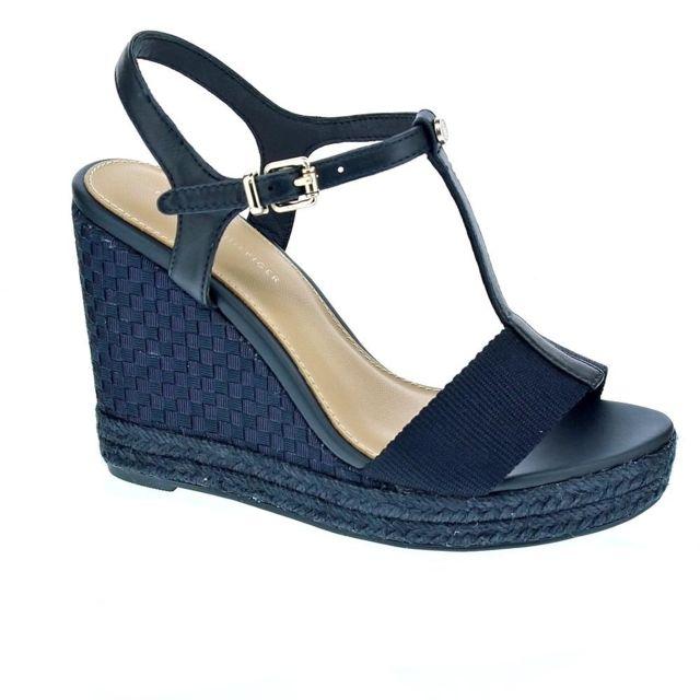 5712514da749 Tommy hilfiger - Chaussures Femme Sandales modele Elena Pop Color ...