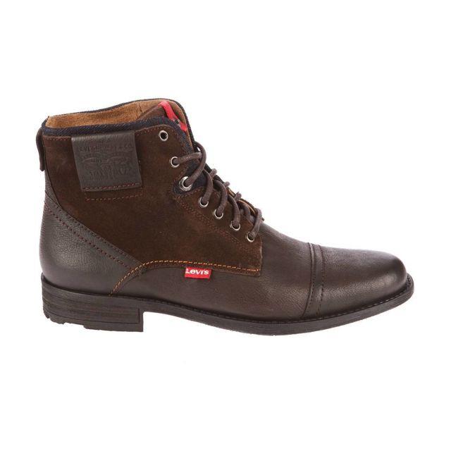 buy online detailed look best Chaussures montantes Fowler bi-matière marron