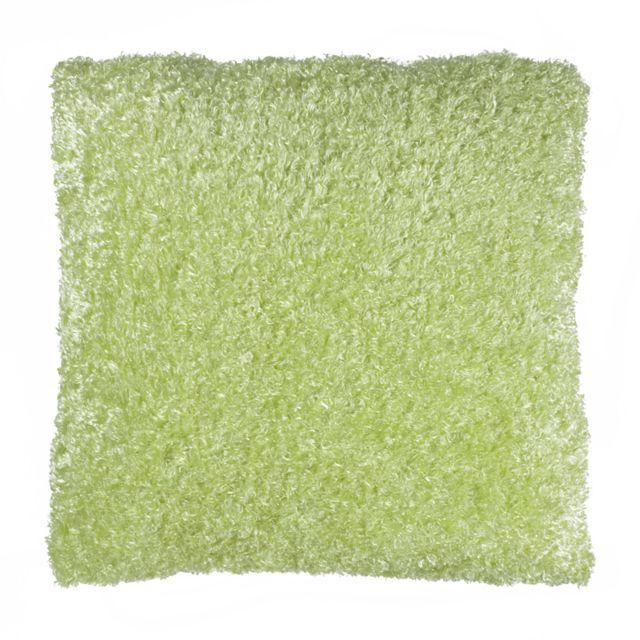 mon beau tapis coussin bouclette 80x80 vert 80cm x 80cm pas cher achat vente coussins. Black Bedroom Furniture Sets. Home Design Ideas