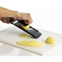 Mastrad - Mini-Mandoline pour chips plastique noir