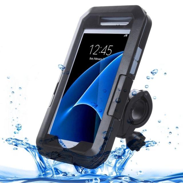 save up to 80% usa cheap sale los angeles Coque Wateproof étanche pour Samsung Galaxy S7 / G930 Ipx8 plastique + étui  de protection en silicone avec porte-vélo
