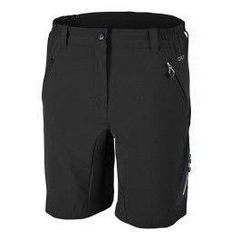 CMP Cuissard Vélo Pantalon Noir Respirant Élastique séchage rapide Stretch