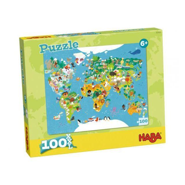 Haba Puzzle Carte du monde