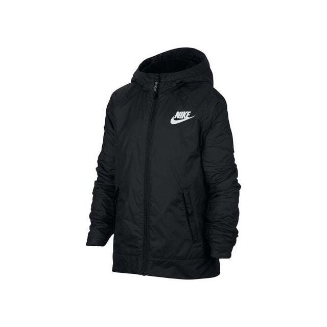 Nike Veste Sportswear bleu marine logo blanc pas cher
