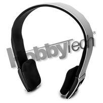 Hobbytech - Casque stéréo Bluetooth qualité Hifi couleur blanc + micro intégré