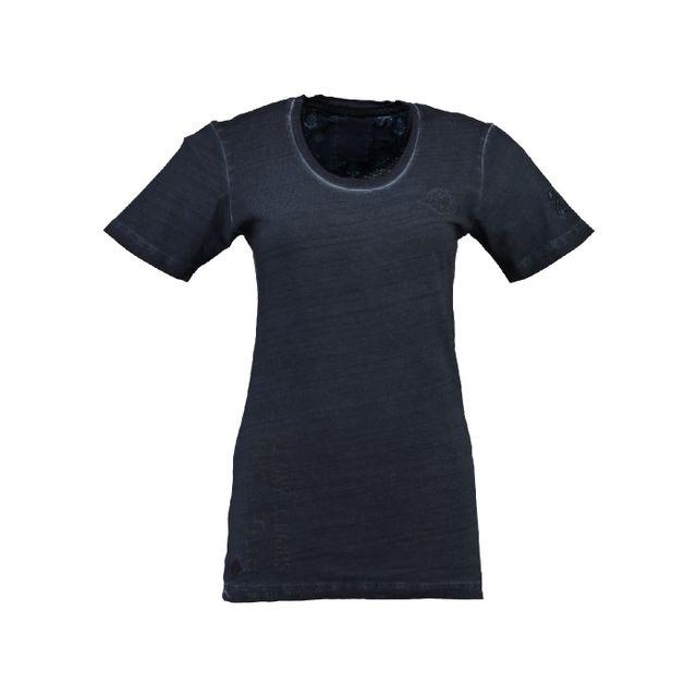 475a5e945eb6 Geographical Norway - T-shirt Femme Judefruit Marine - pas cher ...