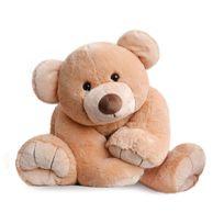 Histoire D'OURS - Peluche Gros'ours Miel 90cm