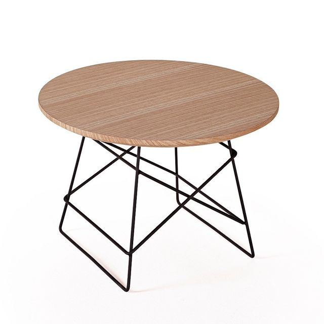 Inside 75 Innovation Living Grid tables basse design taille M coloris chêne