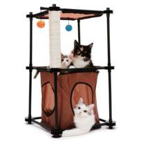 Kitty City - Tour - Aire de jeux 79x45x45cm - Pour chat