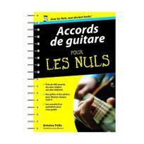 Editions First - Accords de guitare pour les Nuls - Antoine Pollin