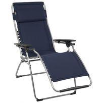 Lafuma Mobilier - Lafuma Chaise pliante Futura Clippe Grau avec Polycoton