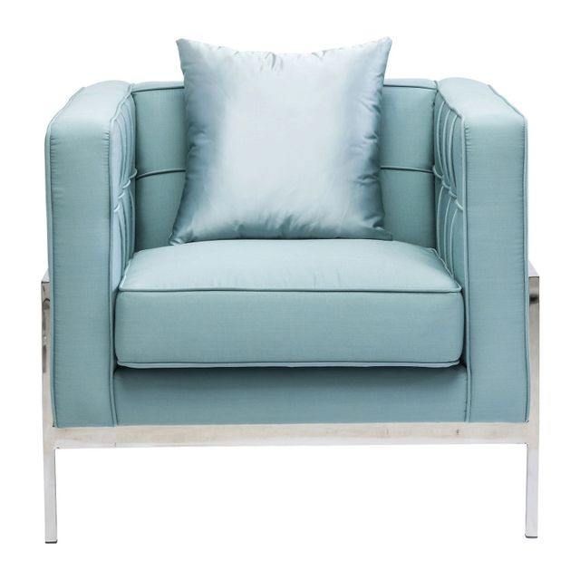 Karedesign Fauteuil Loft turquoise Kare Design